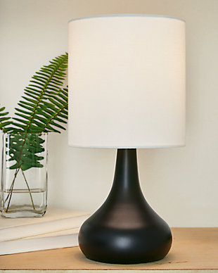 Camdale Table Lamp, Black, rollover