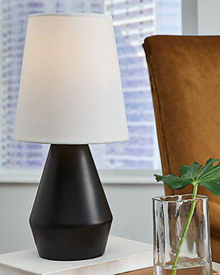 Lanry Table Lamp, Black, rollover