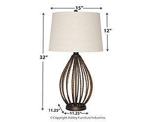 Darrius Table Lamp, , large