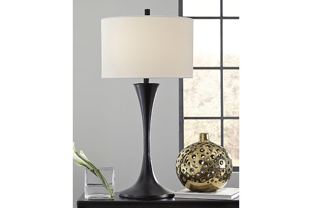 Black Joakim Table Lamp by Ashley HomeStore
