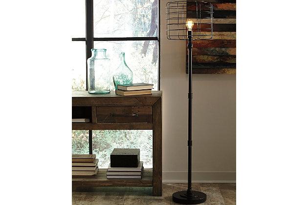 javan floor lamp ashley furniture homestore
