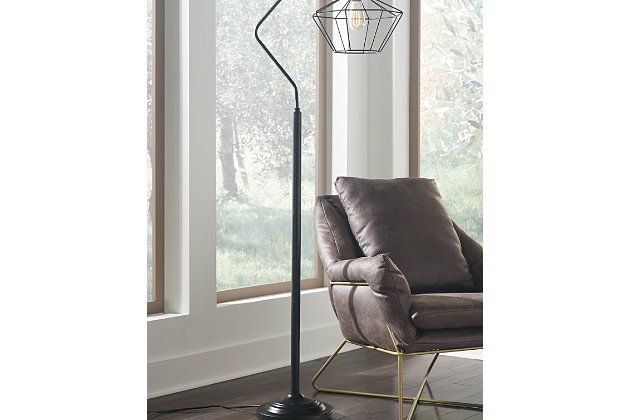 Makeika floor lamp ashley furniture homestore makeika floor lamp large aloadofball