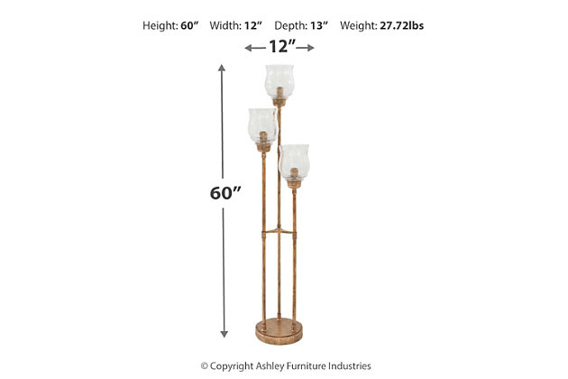 Emmie Floor Lamp, , large