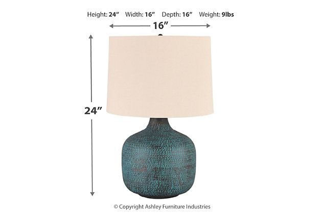 Malthace Table Lamp, , large
