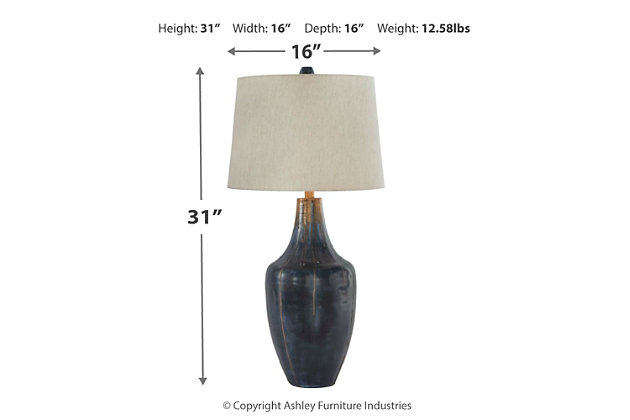 Evania Table Lamp, , large