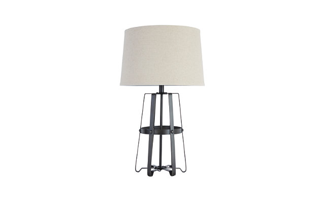 Black Samiya Table Lamp by Ashley HomeStore