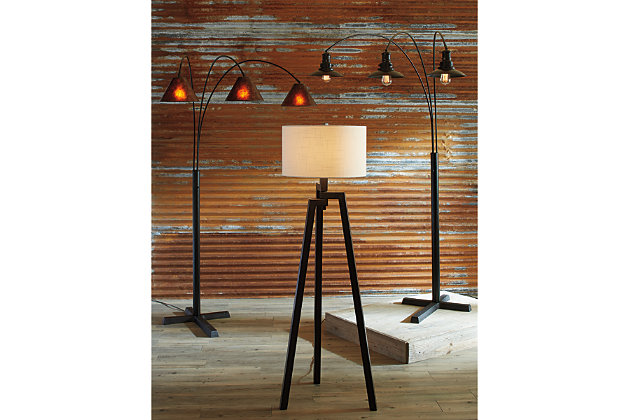 Selbea Floor Lamp by Ashley HomeStore, Dark Bronze Finish