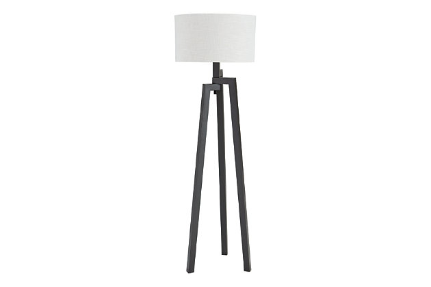 Dark Bronze Finish Selbea Floor Lamp by Ashley HomeStore
