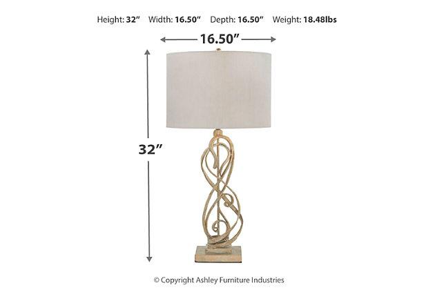 Edric Table Lamp, , large