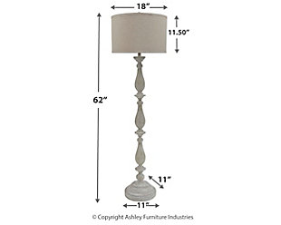Bernadate Floor Lamp, , large
