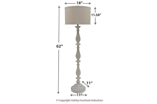 Bernadate Floor Lamp, , large