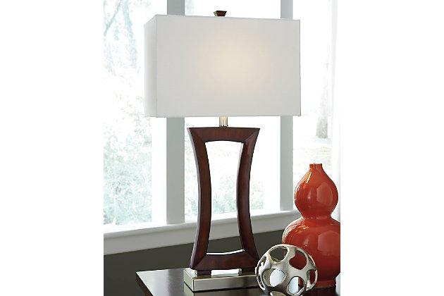 Brown Danon Table Lamp by Ashley HomeStore