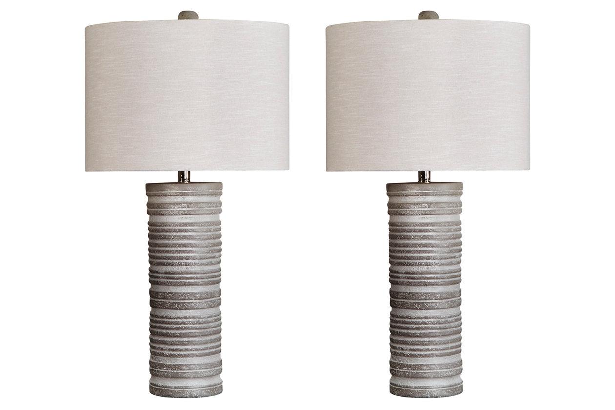Nadyia Table Lamp Set Of 2 Ashley Furniture Homestore