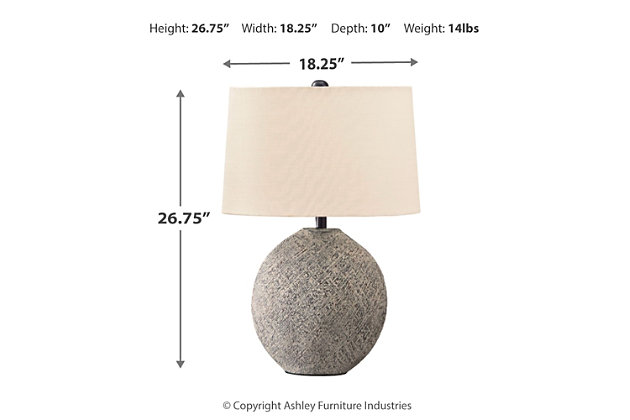 Harif Table Lamp, , large