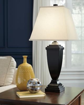 Image of Amerigin Table Lamp (Set of 2), Bronze Finish