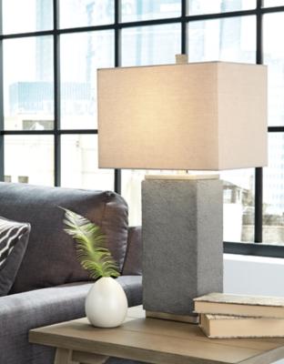 Image of Amergin Table Lamp (Set of 2), Grain