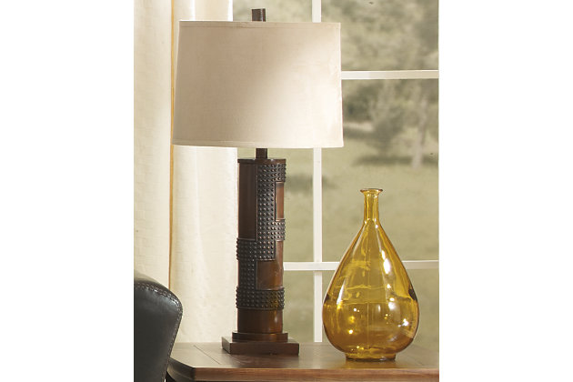 Oriel table lamp set of 2 large