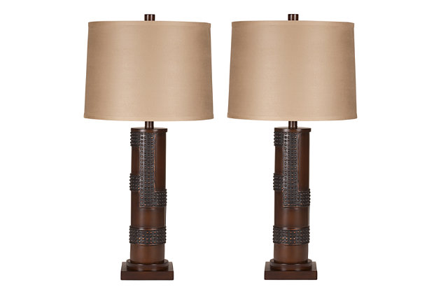 Oriel Table Lamp (Set of 2), , large