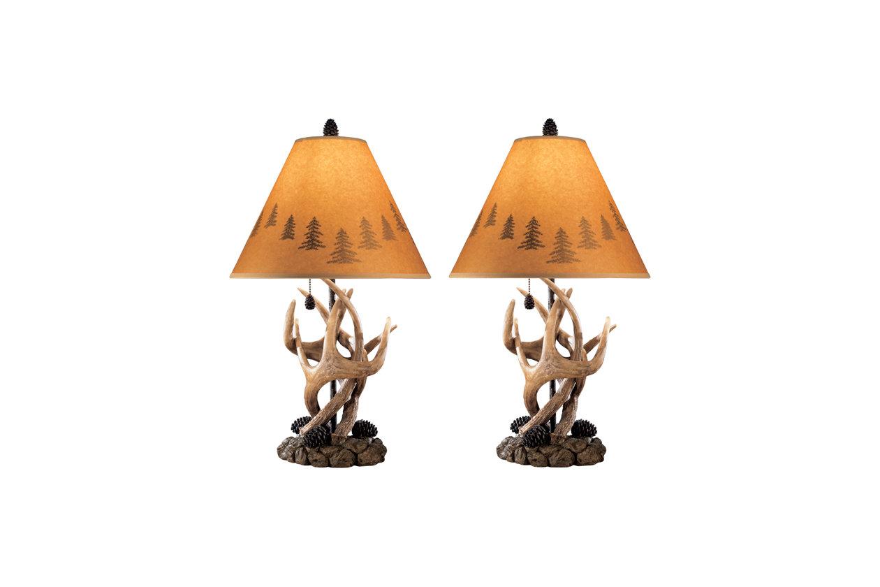 derek table lamp set of 2 ashley furniture homestore