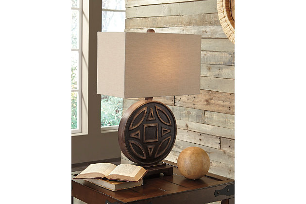 Black Tabrimon Table Lamp by Ashley HomeStore