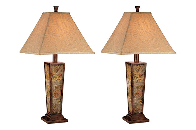 Eloise Table Lamp (Set of 2) by Ashley HomeStore, Multi