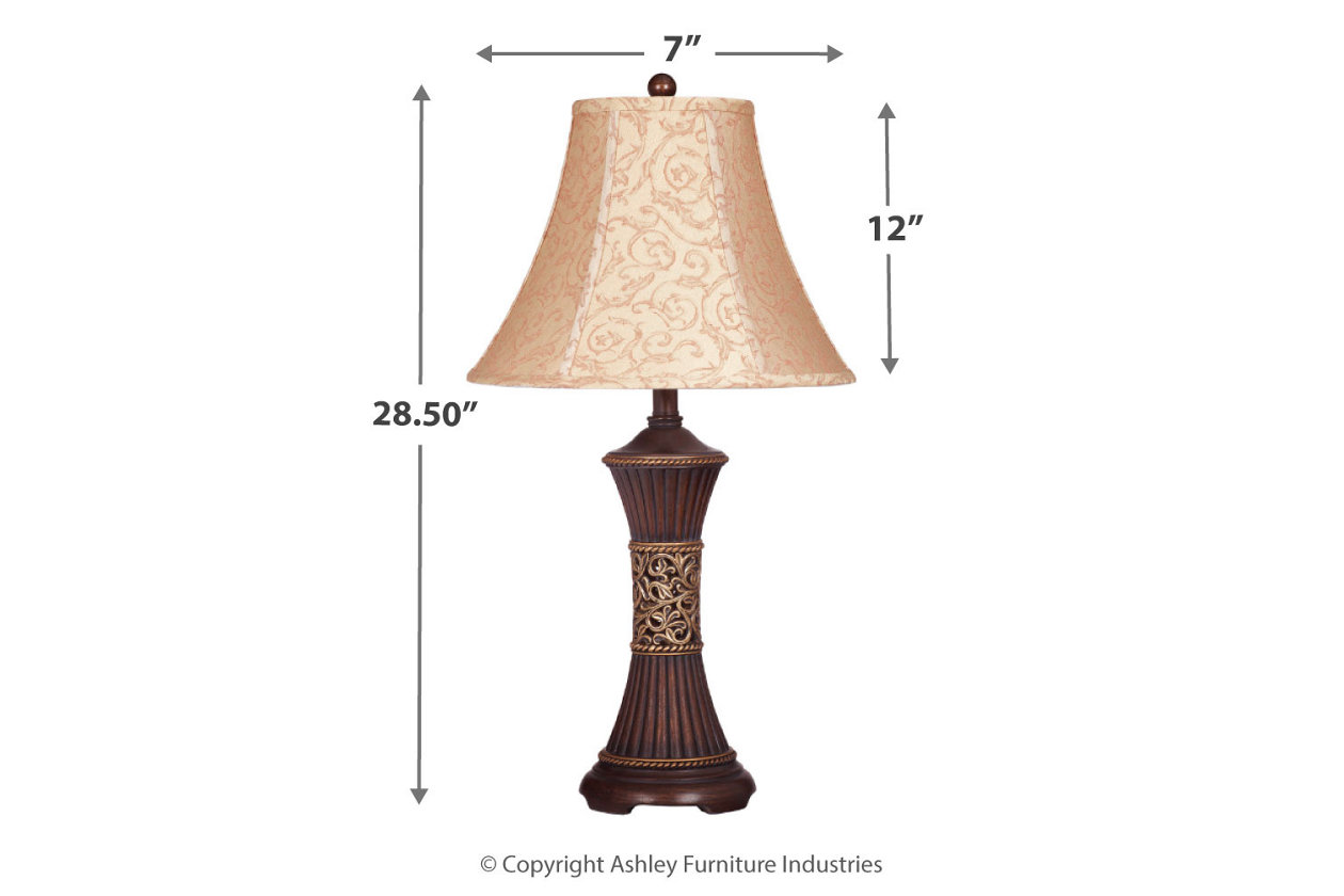 Mariana Table Lamp Set Of 2 Ashley Furniture Homestore