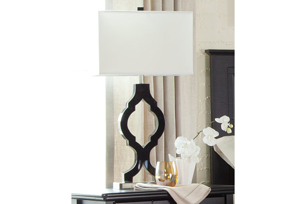 Rosetta table lamp set of 2 large