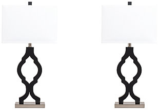 Rosetta Table Lamp (Set of 2), , large