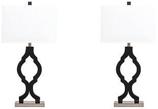 Rosetta Table Lamp (Set of 2), , large