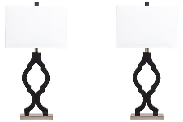 Rosetta Table Lamp Set Of 2