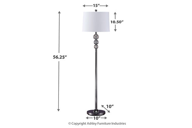 Joaquin Floor Lamp, , large