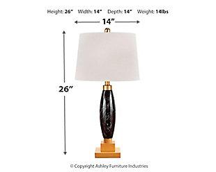 Malencia Table Lamp, , large