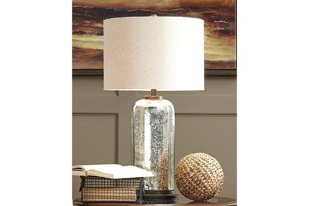 Silver Finish Sharlie Table Lamp View 1
