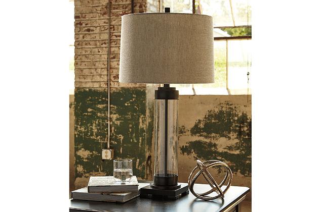 Talar Table Lamp by Ashley HomeStore, Bronze Finish