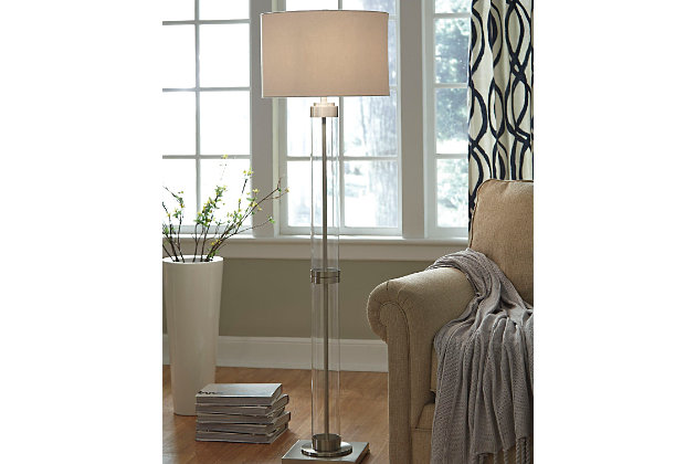 Talar floor lamp ashley furniture homestore talar floor lamp large aloadofball