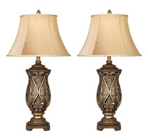 set of two lamps for living room decor - Table Lamps