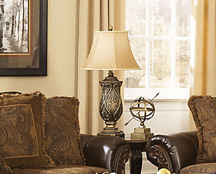 Set of two lamps for living room decor Table Lamps   Illuminate Your Space   Ashley Furniture HomeStore. Living Room Lamps. Home Design Ideas