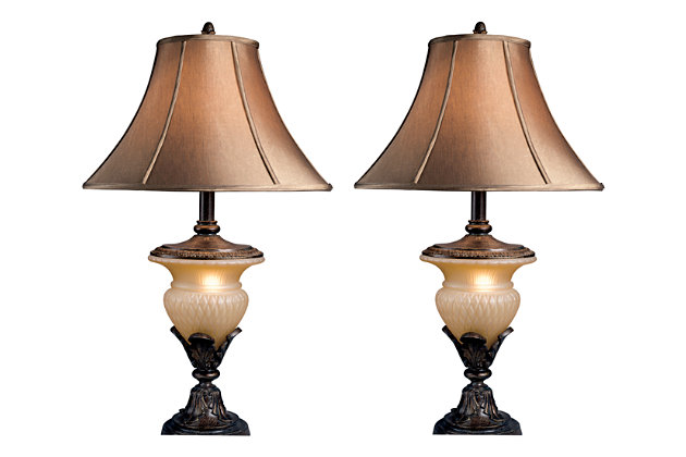 Danielle Table Lamp (Set of 2) | Ashley Furniture HomeStore