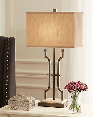 Malik Table Lamp, , rollover