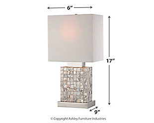 Mother of Pearl Lamp, , large