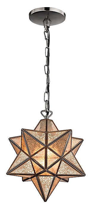 Moravian Star Pendant in Bronze Finish, , large