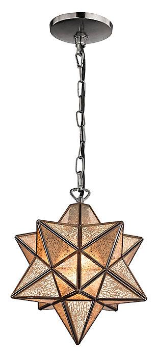 Moravian Star Pendant in Bronze Finish, , large