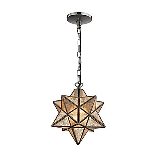Moravian Star Pendant in Bronze Finish, , rollover