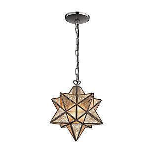 Moravian Star Pendant in Bronze Finish, , rollover
