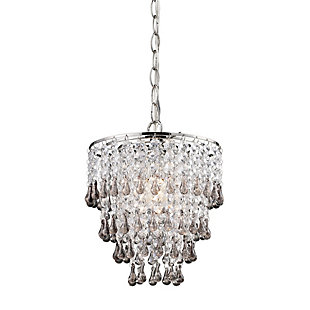 Clear Crystal Pendant Lamp, , rollover