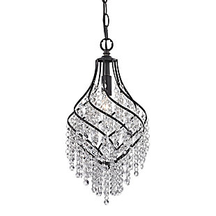 Crystal Drop Pendant, , large