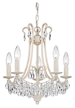 Antique Finish Chandelier, , large