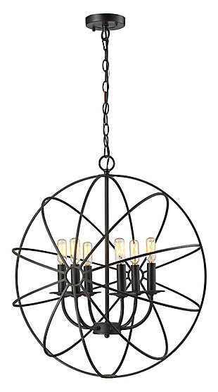 Yardley Chandelier in Oil Rubbed Bronze Finish, , large