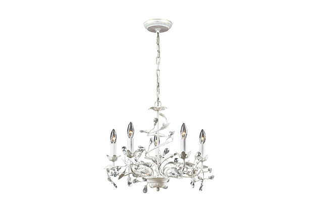 Circeo Chandelier in Antique Bronze Finish, , large