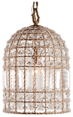Home Accents Glass Crystal Chandelier by Ashley